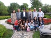 Katia e Bruno con i calligrafi coreani e la famiglia Ye Xin 2